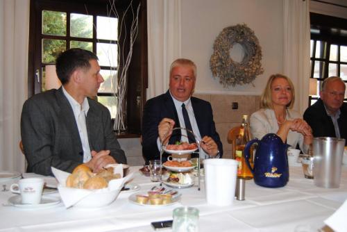 Unternehmerfrühstück mit Burkhard Balz