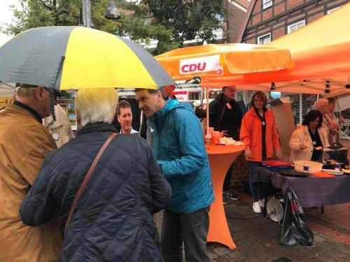 Infostand in Soltau