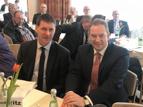 Auf dem Kreisparteitag der CDU Heidekreis mit unserem Betreuungsabgeordneten im Bundestag Henning Otte MdB